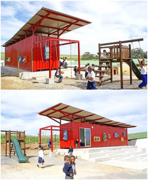 www.54-11.com GLOBAL@Argentina.com Venta de #containers #maritimos, venta de #contenedores #refrigerados y de #carga seca. Servicios de Comercio Exterior 19+Marvelous+Structures+That+Prove+Shipping+Containers+Are+Just+LEGO+For+Architects