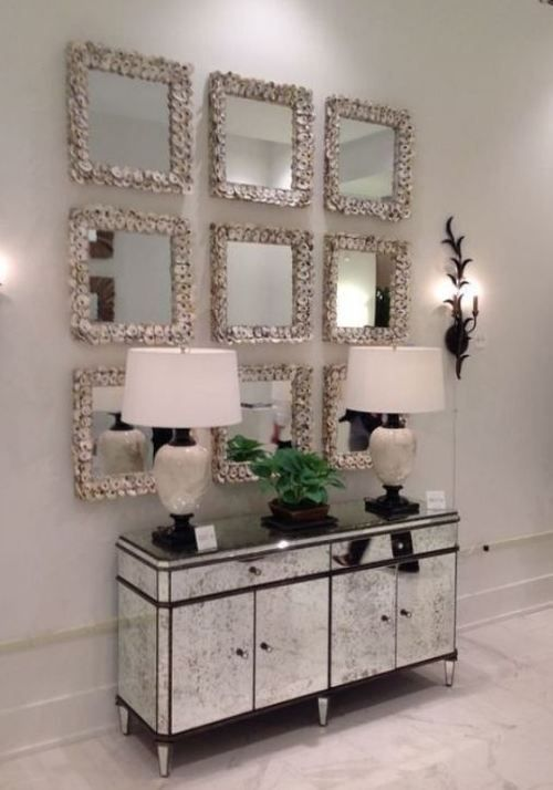 Besides Having The Ability To Help To Decorate Themselves The Mirror Is Usually Utilized As A Decoration To Offer The Impr In 2020 Decor Home Decor Hallway Decorating #wall #mirror #designs #for #living #room