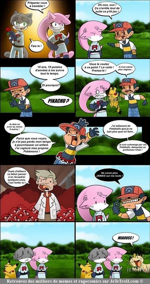 Quand Sasha en a marre lol (pokemon)