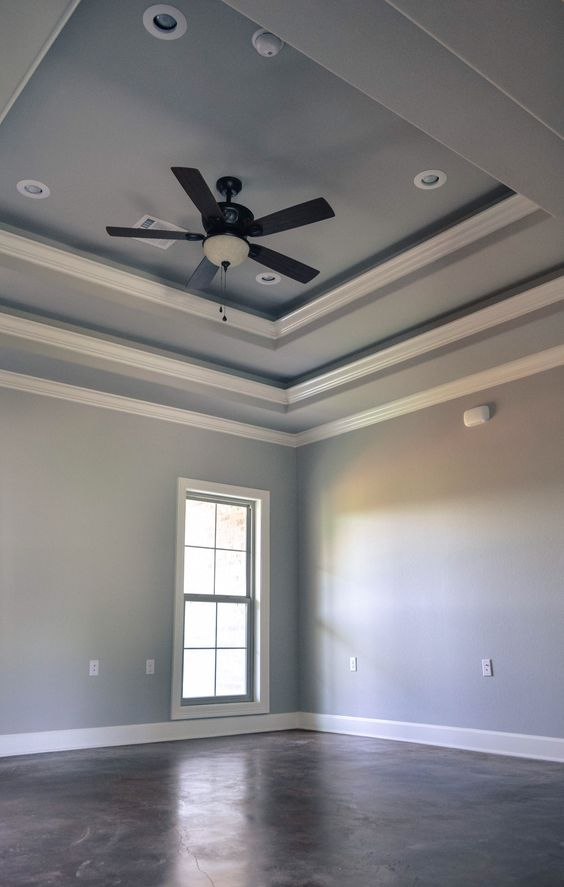 Double Tray Ceiling 118 Teal Pinterest Ceilings