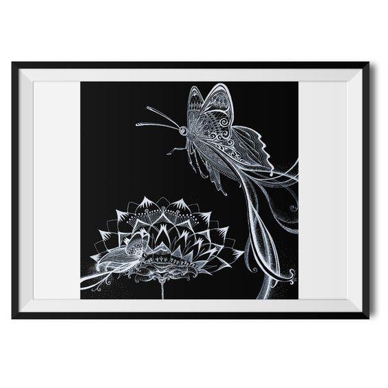 Yumi Amanuma - Entry 3 - Butterfly Original Print – Wraptious