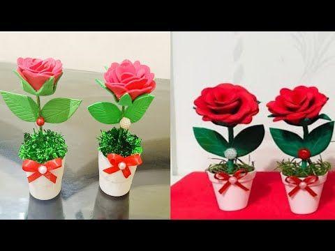 طريقة صنع هديه لعيد الأم بأقل تكلفة وكمان تنفع ديكور جميل Diy Mother Day Gifts Youtube Diy Mothers Day Gifts Mother S Day Diy Crafts