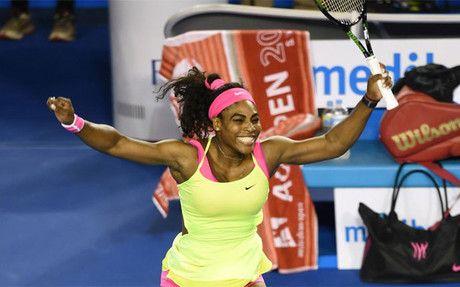 Serena Williams vence a Sharapova y se hace con su sexto Abierto de Australia +http://brml.co/1ziZQ9J