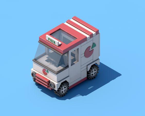 Pizza Car on Behance