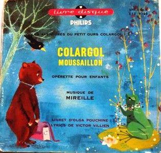 Colargol Mousaillon Livre Disque n° 57  (opérette pour enfants)