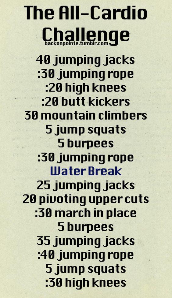 Cardio Workout!