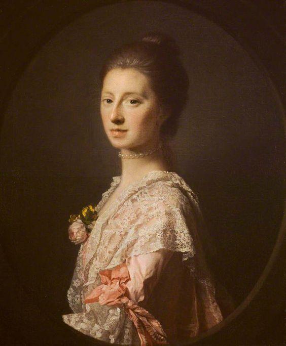 """""""Mrs Anna Bruce of Arnot"""", Allan Ramsay, 1766-68"""