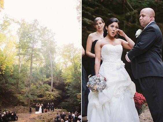 Outdoor Woods Wedding Ceremony: Perfect Outdoor Wedding Ceremony Location. Mammoth Cave