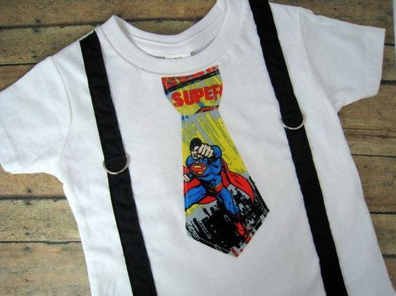 superman onesie!