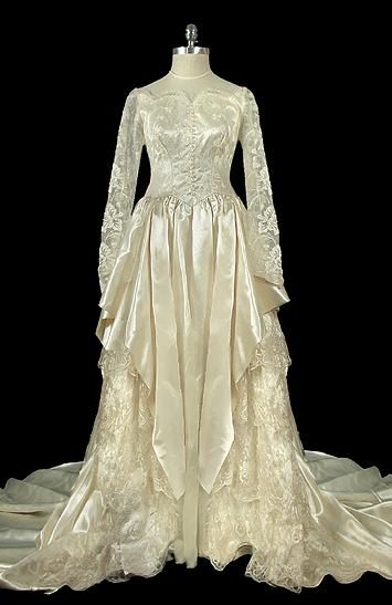 Wedding Dress,1940s, The Frock