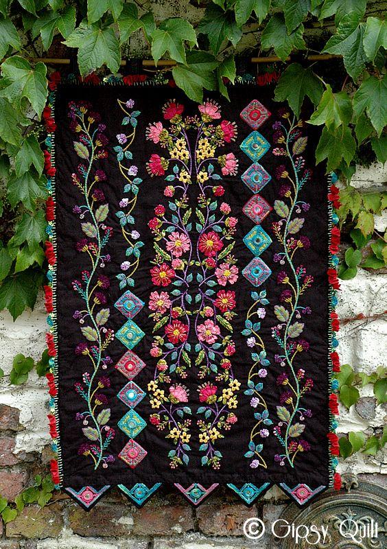 Beautiful flower and silk on pinterest