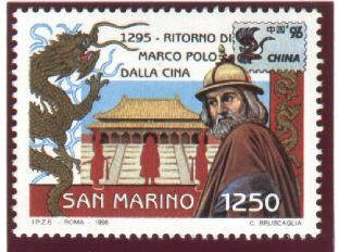Marco Polo in philately