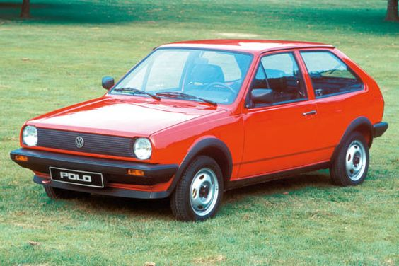 VW Polo. I remember a grey one . . .