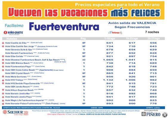 4ªEdición Las vacaciones mas felices. Hoteles en Fuerteventura salidas desde Valencia - http://zocotours.com/4aedicion-las-vacaciones-mas-felices-hoteles-en-fuerteventura-salidas-desde-valencia/