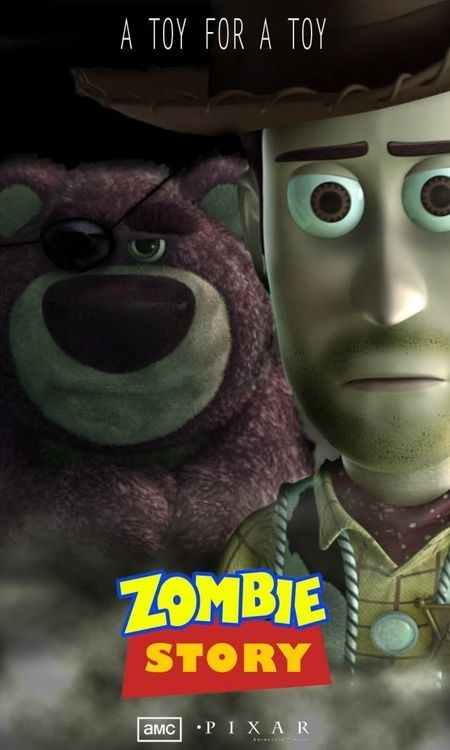 The Walking Dead + Toy Story = Zombie Story | Frikadas # ...
