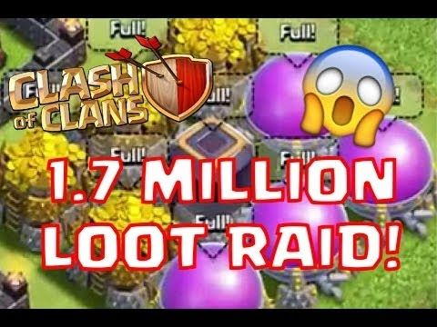 Ever Best Loot For Town Hall 8 || 1.7 Million (17 Lakh) Loot || 4th Epis...