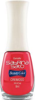 Esmaltes Sabrina Sato Cremoso e Cintilante  Uma coleção exclusiva cheia de glamour, com cores escolhidas pela celebridade mais querida da televisão.  http://www.liggi.com.br/loja/busca.php?loja=339299&palavra_busca=sabrina+sato
