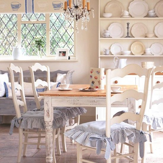 French-style country dining area | Antique style | Decorating ideas | housetohome.co.uk