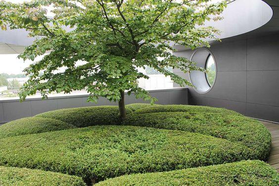 Van Haneghem tuin en landschap / repinned on toby designs