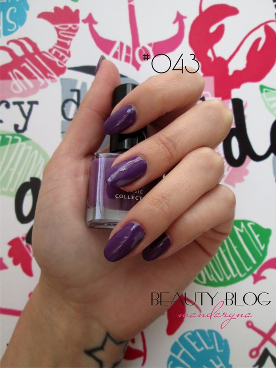 Mandaryna's Beauty Blog: M.A.G. Basic Collection nailpolishes