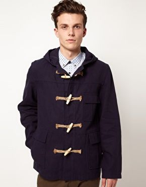 Gabicci Jacket Mevagissey With Toggles:  asos.com