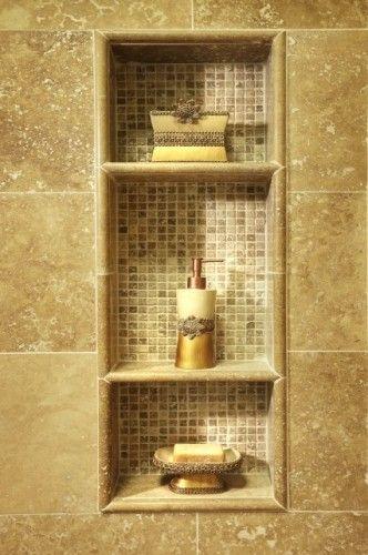 Shower Tile/Shelving