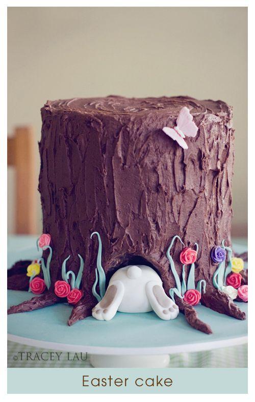 easter bunny cake @Shae Davis