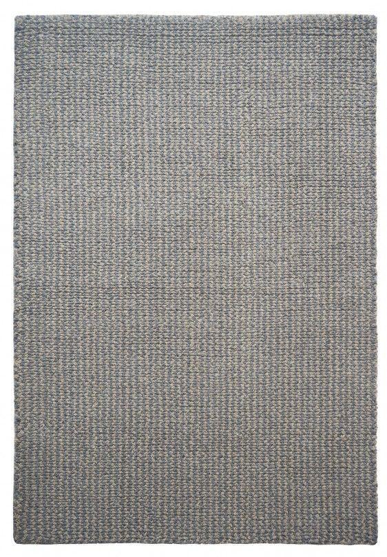 Crossweave Taupe/Grey Eco Cotton Loom-Hooked Rug - Hook & Loom