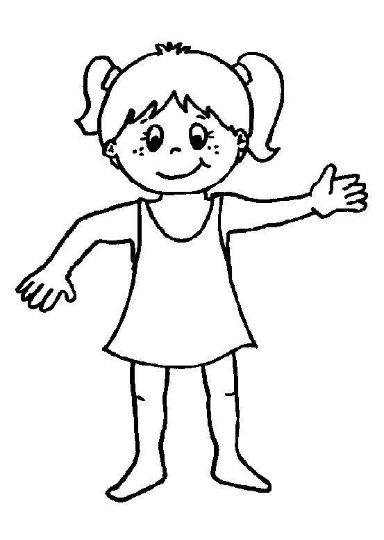 Del Cuerpo Humano Para Colorear Con Sus Partes Imagui Cartoon Faces Baby Drawing Drawing Activities