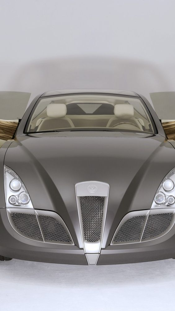 Russo-Baltique Impression, supercar, Russo-Balt, concept, luxury cars, review, front, doors: