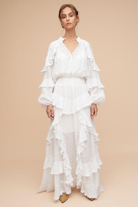 Hanae Maxi Dress Ivory Tigerlily Dresses Maxi Dress Maxi Dress Jumpsuit