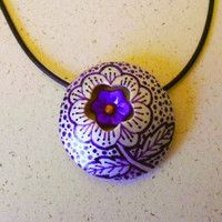 Hidden Flower Pendant