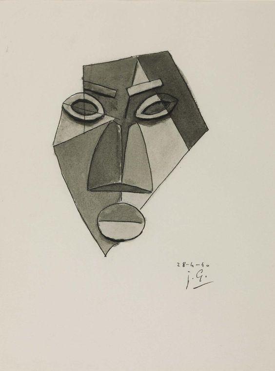 Julio González, 'Maltese Face' 1940