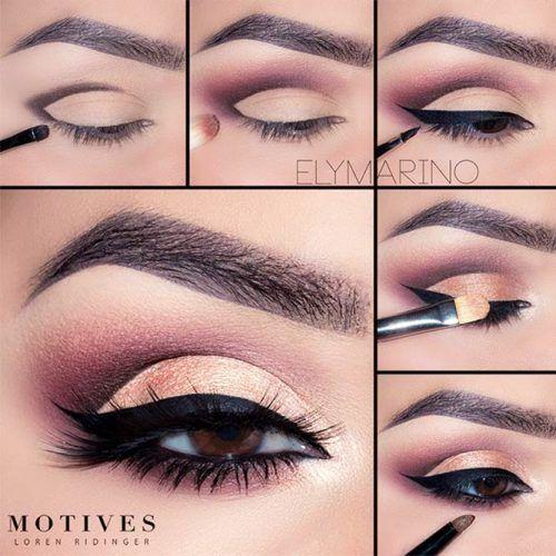 24 Maquillaje paso a paso para morenas