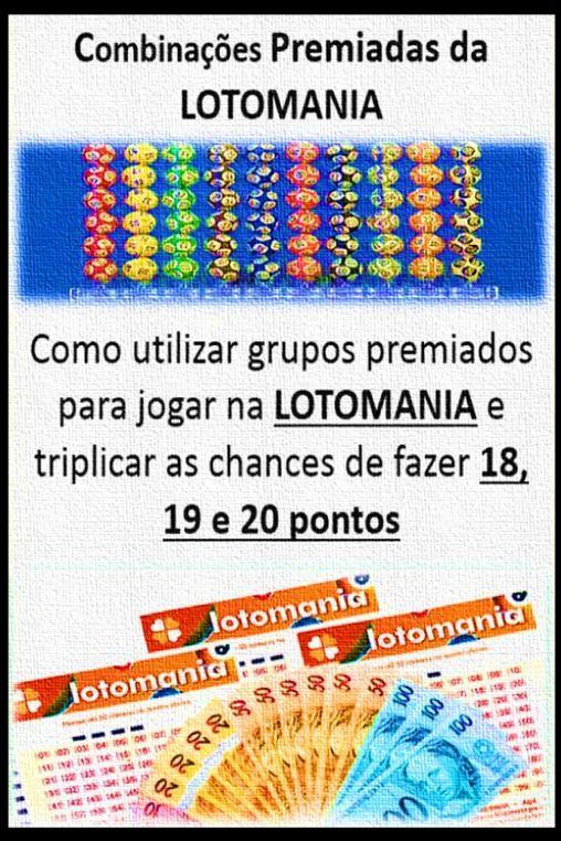 Lotomania Gerador De Combinacoes Premiadas Lotomania Lotomania
