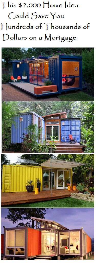 Reusing shipping containers as homes has become wildly popular in the last few years. Their convenient size and shape make them a perfect alternative to a modern home.
