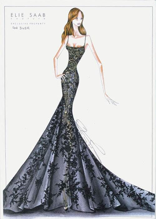 Fashion couture sketches how to fashion designer for To be a fashion designer