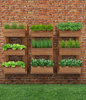 Como Fazer Jardim Vertical - Paisagismo e Jardinagem  | Jardim-Vertical-Lindo: