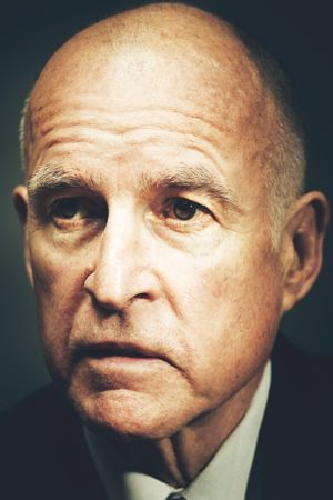 California's Jerry Brown–now pragmatic, but still profane–is banking on a last-gasp proposal to save the biggest economy in the nation.