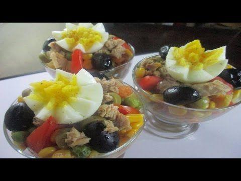 اكواب السلطة المميزة ولا اروع Youtube Food Acai Bowl Salad
