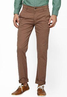 Stylish, Latest Fasionable & Well Designed Taanz Solid Brown Formal Trouser men features product specifications, reviews, ratings, images, price chart and more to assist the user
