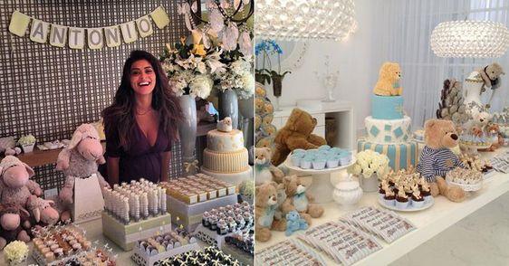 Chás de bebê de Juliana Paes e Claudia Leitte inspiram decoração. Veja dicas!