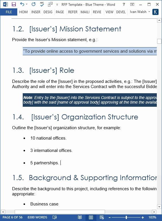 Request For Proposal Template Word Unique Plantilla De Solicitud De Propuesta Rfp Ms Word Ex Proposal Templates Business Proposal Template Request For Proposal