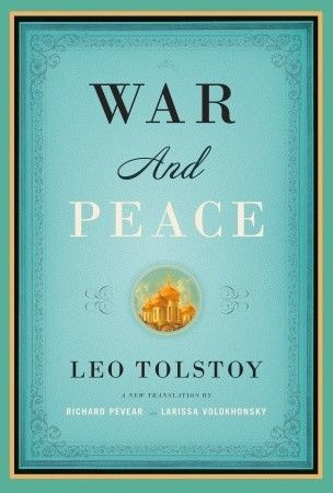 War and Peace by Leo Tolstoy - one of the best books ever written, and one I wish I would forget in order to read again...