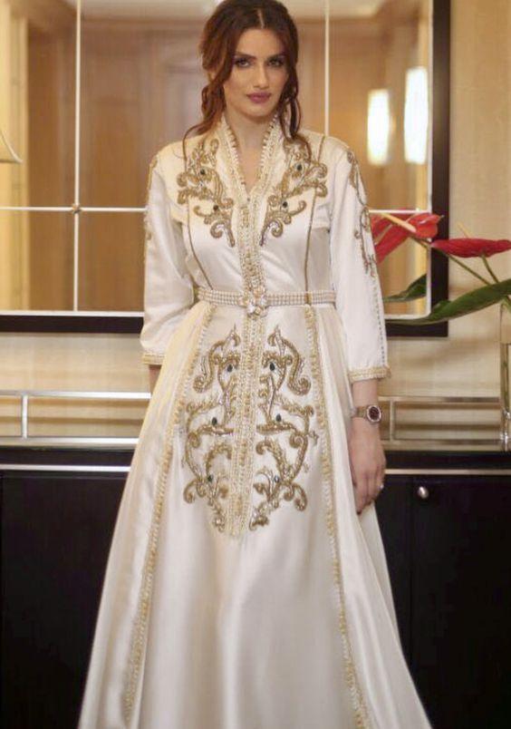 قفطان مغربي 2017 للعروس 13 Moroccan Dress Moroccan Fashion Morrocan Fashion