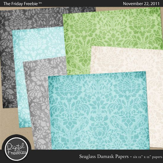 Crafty life: Free printable paper from Digital Freebies