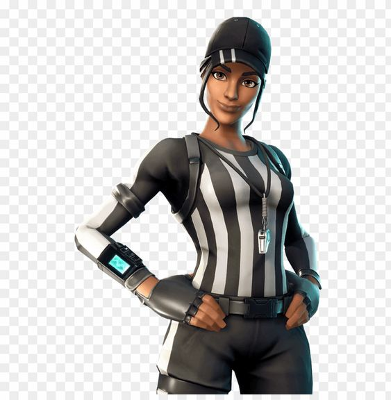 Whistle Warrior Outfit Featured Image Girl Referee Skin Fortnite Png Image With Transparent Background Png Free Png Images Warrior Outfit Png Images Fortnite