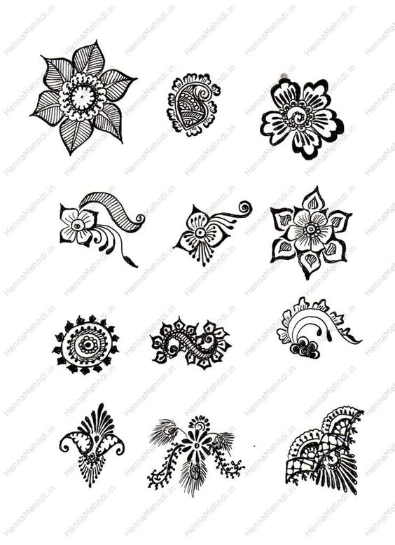 Simple Mehndi Designs And Patterns : Free simple mehndi patterns hands henna designs