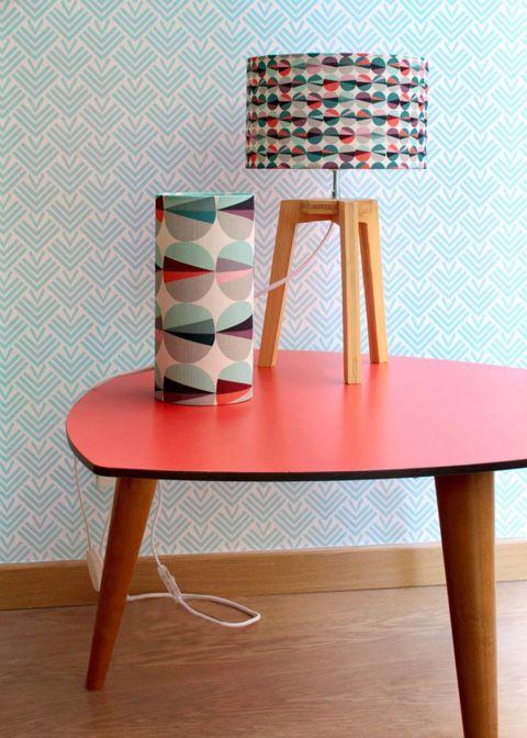... retro style tables interview chevron retro furniture nice patterns