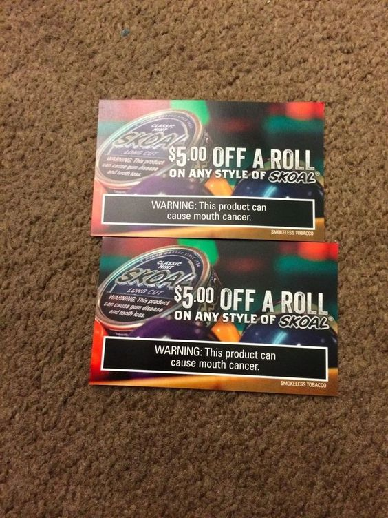 picture about Printable Grizzly Tobacco Coupons identified as Skoal smokeless tobacco coupon codes - Just be coupon code 2018